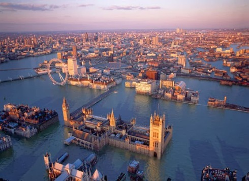 Londres alagada